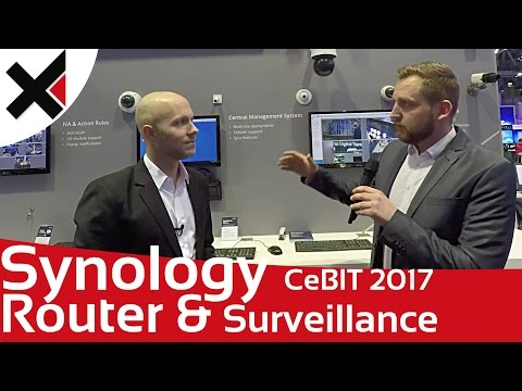 Synology CeBIT 2017 Router & Surveillance Station News | iDomiX