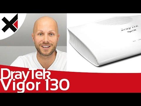 DrayTek Vigor 130 als VDSL Modem einrichten Tutorial Deutsch | iDomiX