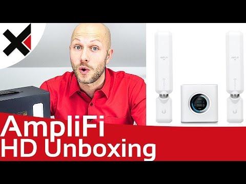 AmpliFi HD Unboxing & Ersteinrichtung, Überblick Deutsch | iDomiX