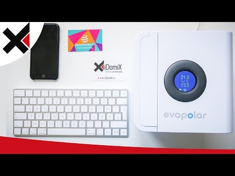 Die Schreibtisch Klimaanlage (mobil) | iDomiX
