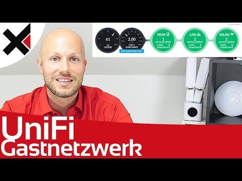 UniFi Gastnetzwerk, Captive Portal, Zeitsteuerung, Geschwindigkeit | iDomiX