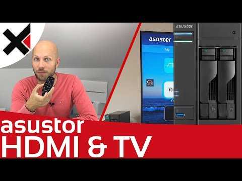 Asustor AS6202T als Multimedia Zentrale zu Hause 4K HDMI Tutorial Deutsch | iDomiX