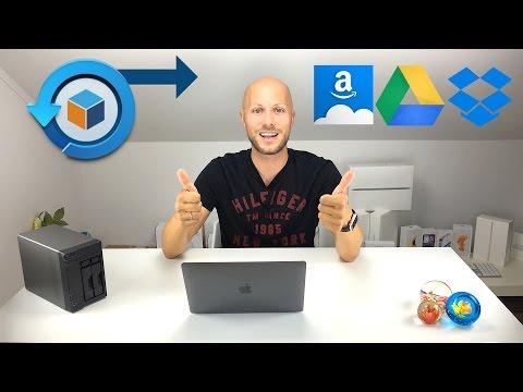 Hyper Backup zu Amazon Drive, Google Drive & DropBox | iDomiX