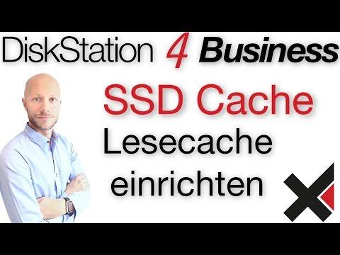 DiskStation 4 Business SSD Cache einrichten Lesecache