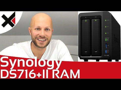 Synology DiskStation DS716+II RAM Upgrade installieren Tutorial Deutsch   iDomiX