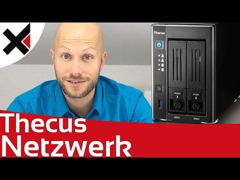 Im Netzwerk auf das Thecus NAS zugreifen Tutorial Deutsch | iDomiX