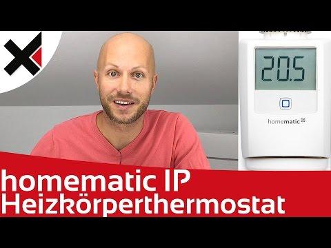 Homematic IP Heizkörperthermostat Installation und Konfiguration | iDomiX