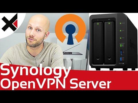 Synology DiskStation OpenVPN Server einrichten Windows, macOS, iOS, Android | iDomiX