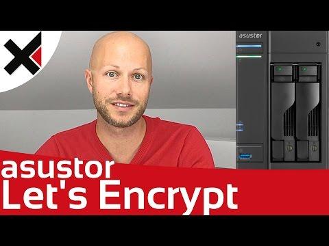 Gültiges SSL Zertifikat für Asustor NAS erstellen Let's Encrypt Tutorial Deutsch | iDomiX