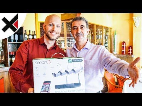Das xmartO NVR Überwachungssystem im Restauranteinsatz   iDomiX