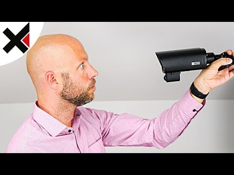 Keine Fehlalarme! IP-Kamera Outdoor mit Wärmesensor im Review | iDomiX