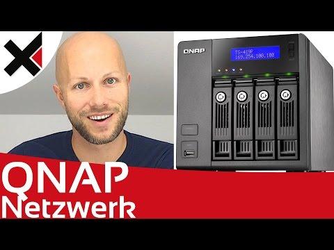 Im Netzwerk auf das QNAP Turbo NAS zugreifen Tutorial Deutsch   iDomiX