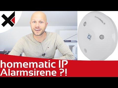 Was kann die Homematic IP Alarmsirene? Lohnt sich der Kauf? | iDomiX