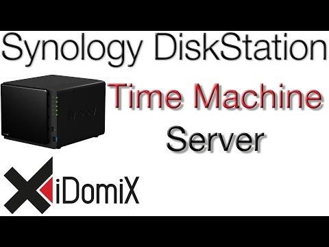 Synology DiskStation DSM 6 Time Machine Server einrichten