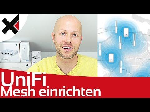 UniFi Mesh Netzwerk einrichten aufbauen Tutorial Deutsch | iDomiX