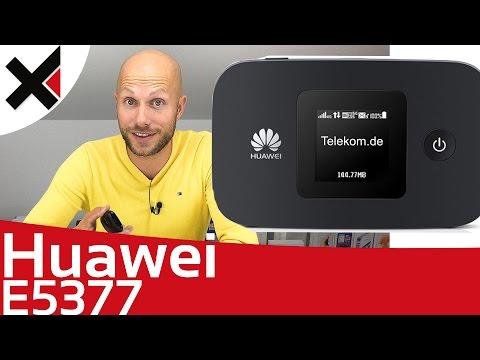Huawei E5377 Mobile WiFi Erster Eindruck & Einrichten | iDomiX