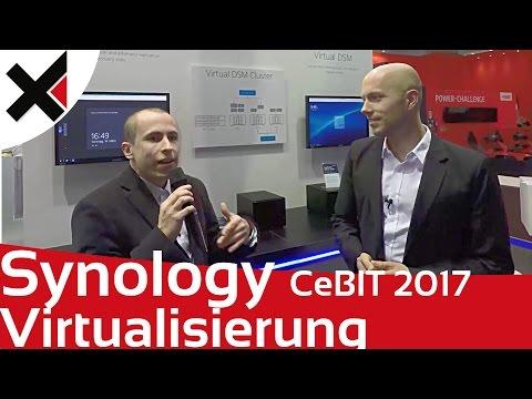 Synology CeBIT 2017: Virtualisierung von Windows, DSM und Linux mit Virtual DSM | iDomiX