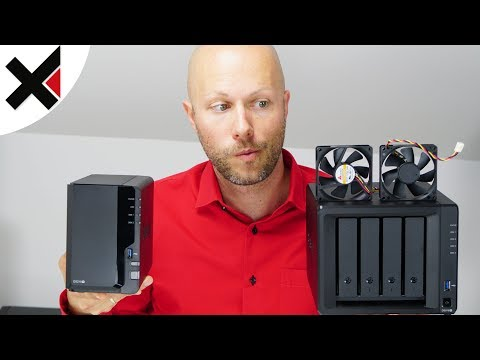 Synology DiskStation leiser+kühler machen, Lüfter tauschen | iDomiX