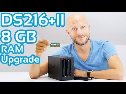 Synology DiskStation DS216+II RAM Upgrade   iDomiX