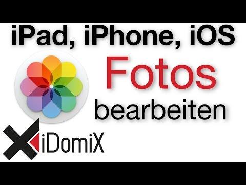 Fotos bearbeiten am iPad und iPhone Fotos App, PS Express