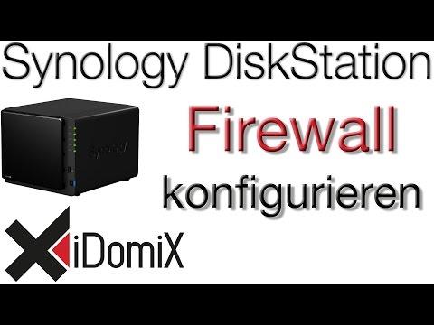 Synology DiskStation DSM6 Firewall einrichten und HTTPS erzwingen