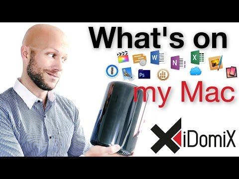 What's on my Mac 2016   iDomiX   German/Deutsch