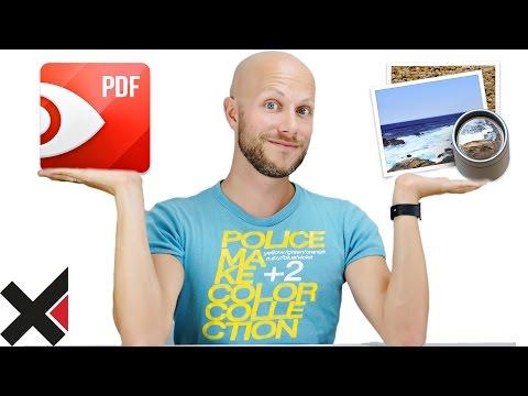 PDF Expert 2 vs. macOS Vorschau | iDomiX