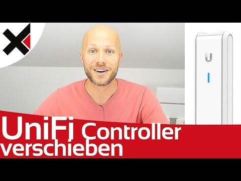 UniFi Controller umziehen auf UniFi Cloud Key Migration verschieben Tutorial Deutsch | iDomiX