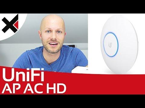 UniFi AP AC HD Unboxing & Vergleich AP AC PRO Deutsch | iDomiX