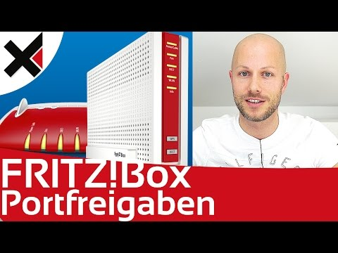 FRITZBox Portfreigaben Was sind Portweiterleitungen? Tutorial Deutsch | iDomiX