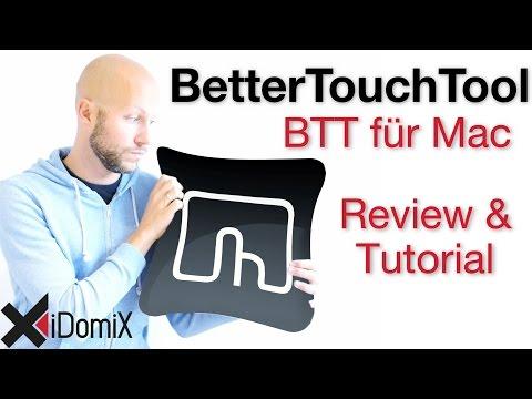 BetterTouchTool BTT für Mac | iDomiX