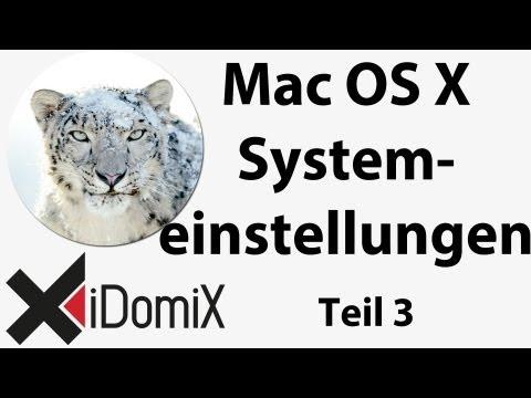 """Mac OS X Systemeinstellungen """"Internet & Drahtlose Kommunikation"""" Umsteiger / Einsteiger / Switcher"""