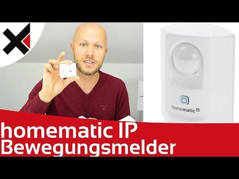 Homematic IP Bewegungsmelder Sicherheit Hüllschutz Vollschutz Konfiguration | iDomiX