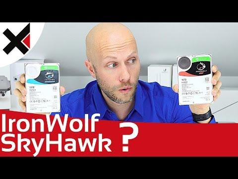 Wofür sind Seagate IronWolf und SkyHawk gedacht? | iDomiX
