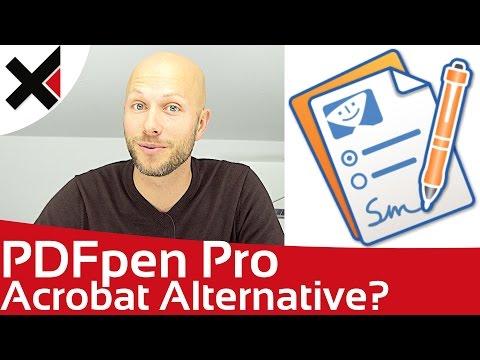 PDFPenPro eine Alternative zu Adobe Acrobat? Mehr PDF als macOS Vorschau | iDomiX