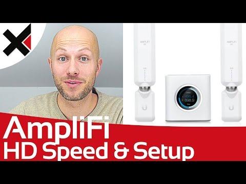 AmpliFi HD Mesh Einrichten, Setup und Geschwindigkeit Test Deutsch | iDomiX