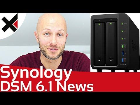 Synology DSM 6.1 Neuigkeiten im Überblick | iDomiX