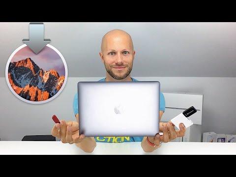 macOS Sierra Bootfähigen USB Stick für Installation erstellen | iDomiX