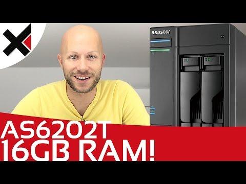 Asustor AS6202T 16 GB RAM einbauen, installieren, upgrade Tutorial Deutsch | iDomiX