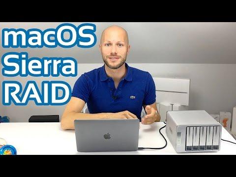 macOS Sierra RAID erstellen mit dem Festplattendienstprogramm | iDomiX