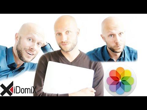 Gesichter in der Fotos App von Mac OS (Gesichtserkennung)   iDomiX