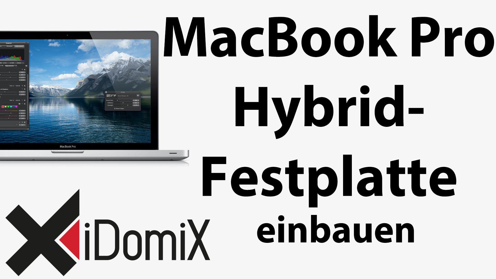 Fazit MacBook Pro mit Seagate Momentus XT Hybrid Festplatte mit SSD
