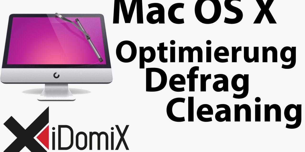 #223 Mac optimieren defragmentieren cleaning [ CleanMyMac 2 ]