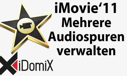 #225 Mehrere Audiospuren in iMovie verwalten