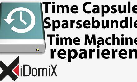 #230 Defektes Time Machine-Backup / Sparsebundle reparieren