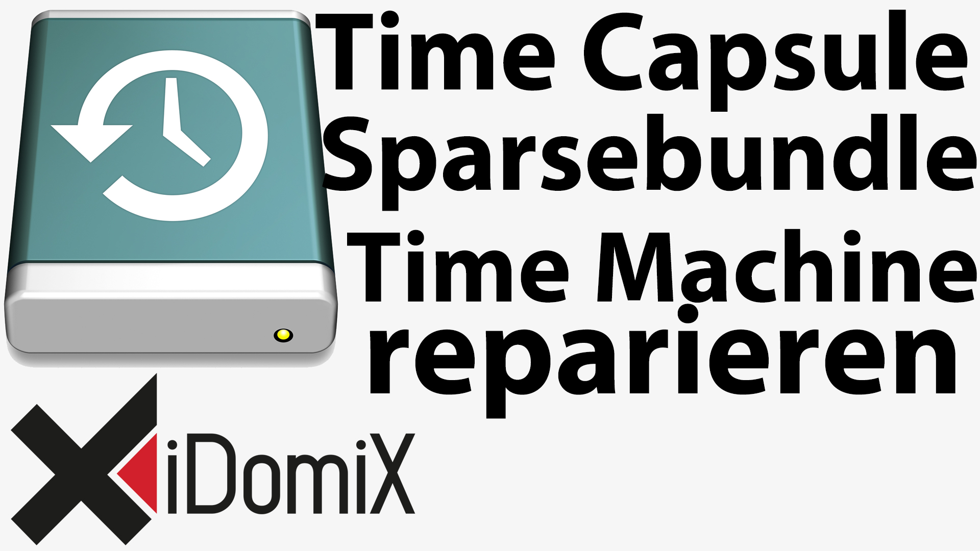 #230 Defektes Time Machine-Backup / Sparsebundle reparieren