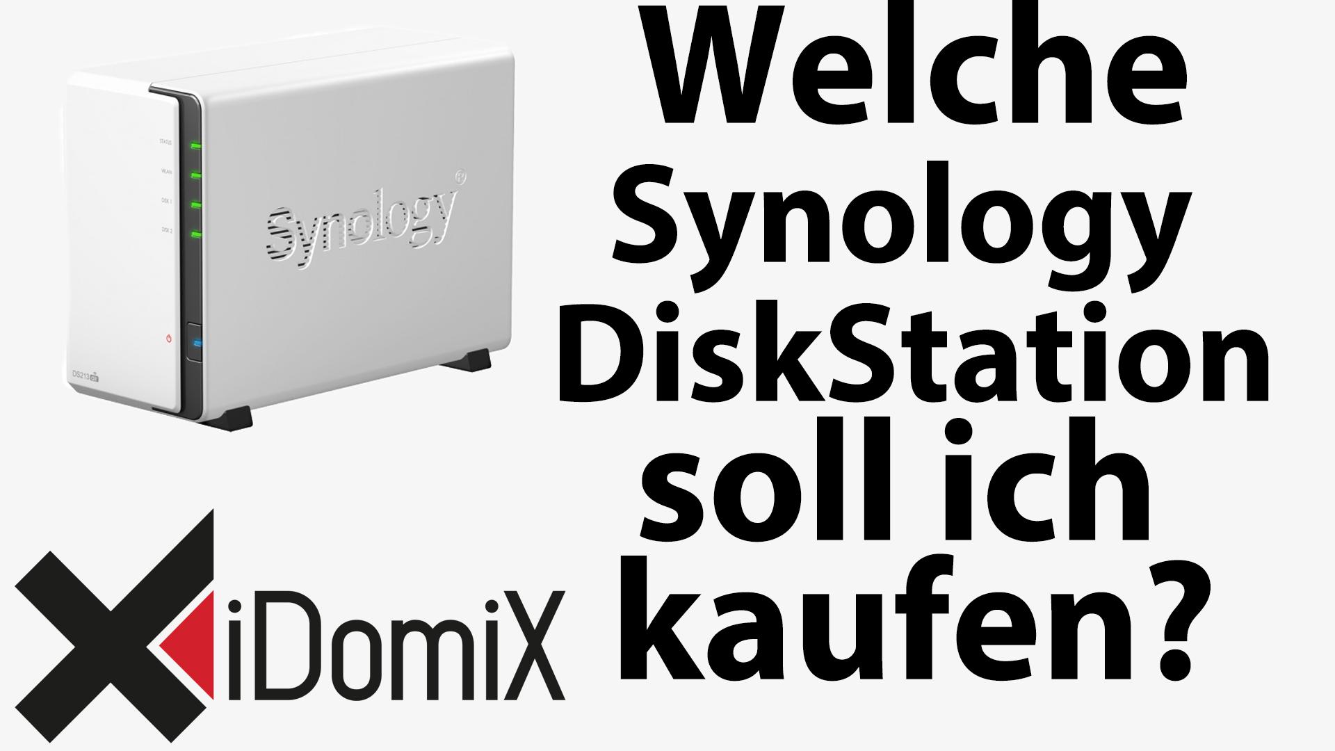 #253 Welche Synology DiskStation soll ich mir kaufen?