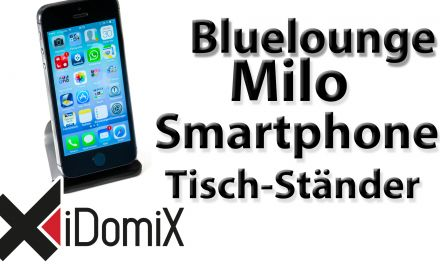 Bluelounge Milo Tisch-Ständer für Smartphones mit Millionen Saugnäpfen