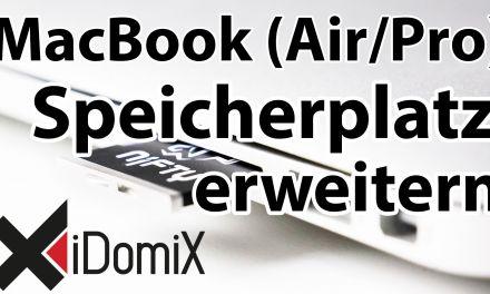 Nifty MiniDrive: MacBook (Air / Pro) um Speicherplatz erweitern