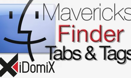 OS X Mavericks Finder Tabs und Tags